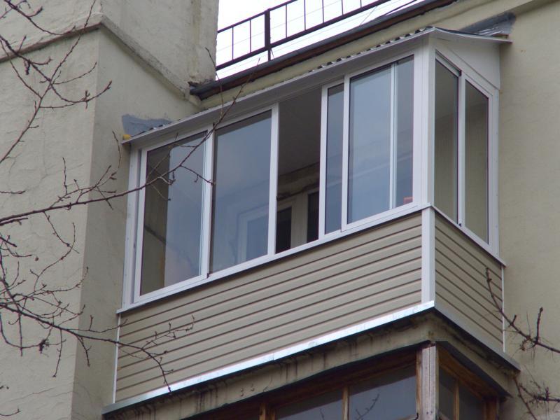 Окна и балконы - наши работы.